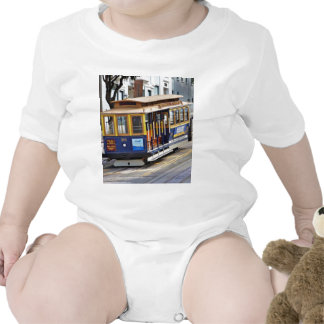 Cable Cars In San Francisco Romper