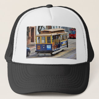 Cable Cars In San Francisco Trucker Hat