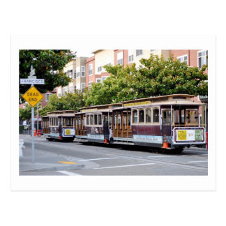 Cable Cars of San Francisco, CA Post Card