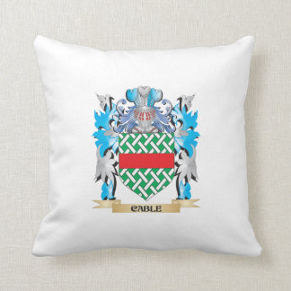 Cable Coat of Arms - Family Crest Pillow