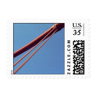 Cable de la suspensión de puente Golden Gate - Sello Postal