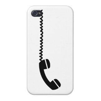 Cable del receptor de teléfono iPhone 4/4S fundas