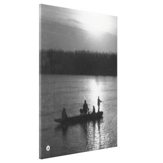 Cable ferry canvas print