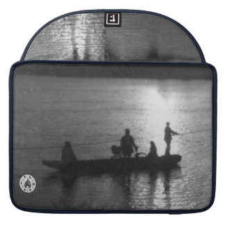 Cable ferry MacBook pro sleeve