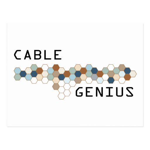 Cable Genius Post Card