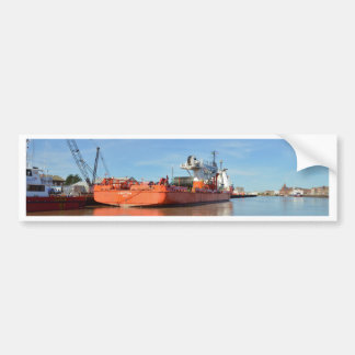 Cable Layer Kingstown Car Bumper Sticker