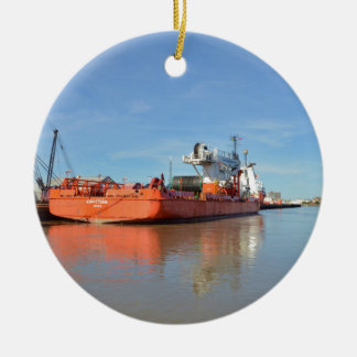 Cable Layer Kingstown Ceramic Ornament