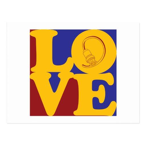 Cable Love Postcard