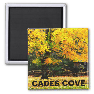 Cable Mill Autumn Cades Cove Fridge Magnets