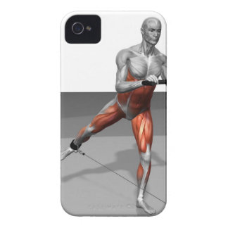 Cable Skater Exercise 2 iPhone 4 Covers