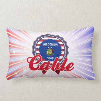 Cable, WI Pillow