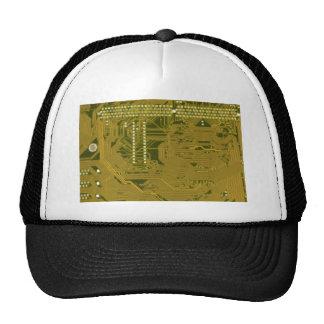 Cableado impreso de la placa de circuito gorras