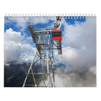 cablecar in Italian Dolomites Calendar