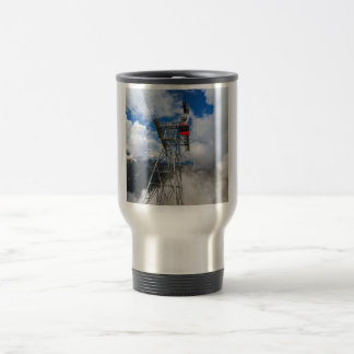 cablecar in Italian Dolomites Travel Mug