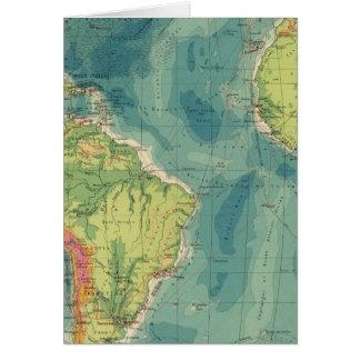 Cables atlánticos, estaciones inalámbricas tarjeta