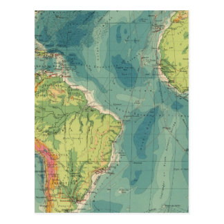 Cables atlánticos, estaciones inalámbricas postal