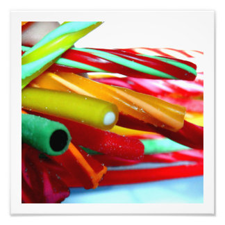 Cables del caramelo arte fotografico