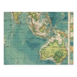 Cables del Océano Índico, estaciones inalámbricas Postal