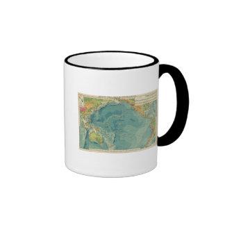 Cables del Océano Pacífico, estaciones inalámbrica Taza De Café