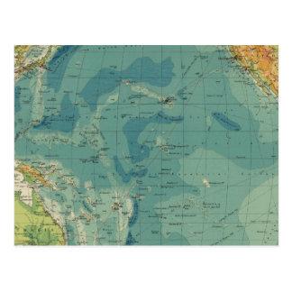 Cables del Océano Pacífico, estaciones Postal