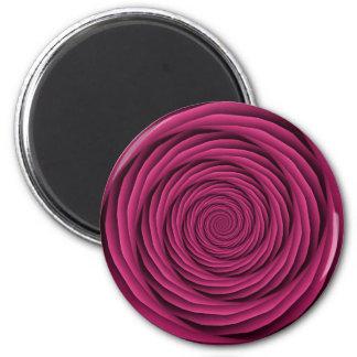 Cables en espiral en imán rosado