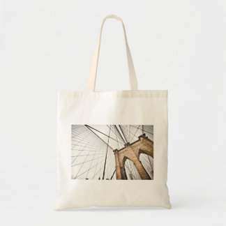 Cables support bridge with arches budget tote bag
