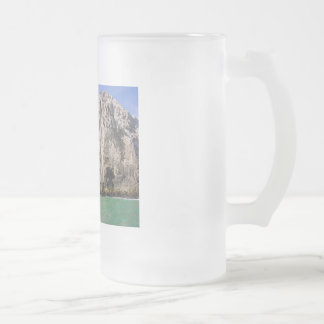 Cabo 16 Oz Frosted Glass Beer Mug