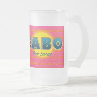 Cabo 3 Frosted Glass Mug