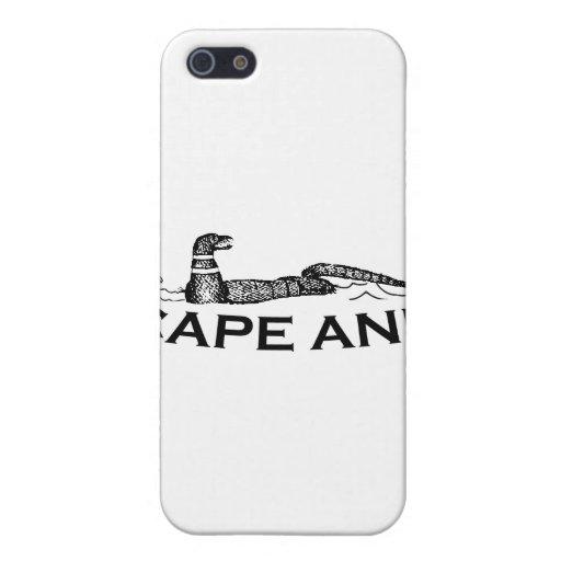 Cabo Ana - diseño de la serpiente iPhone 5 Carcasas