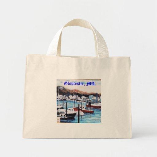 Cabo Anne, Gloucester, mA, Bolsas Lienzo