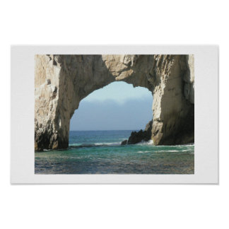 Cabo Arch Poster
