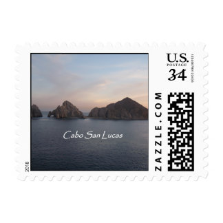Cabo at Sunset Postage Stamp