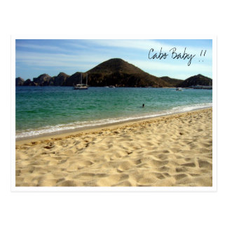 cabo baby post card