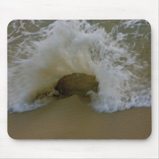 Cabo Beach Rock Mouse Pads