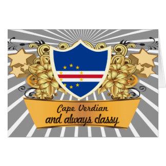 Cabo con clase Verdian Tarjeta De Felicitación