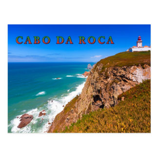 Cabo da Roca #01E Postcard
