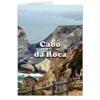 Cabo da Roca: Portugal Card