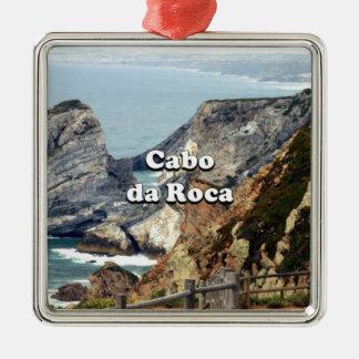 Cabo da Roca: Portugal Metal Ornament