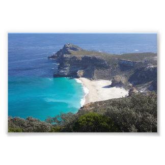 Cabo de Buena Esperanza, Suráfrica, impresión de Cojinete