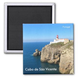 Cabo de São Vicente/Cape St. Vincent 2 Inch Square Magnet