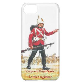 Cabo, escocés real, regimiento de Lothian