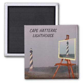CABO HATTERAS LIGHTHOUSE-MAGNET IMANES DE NEVERA