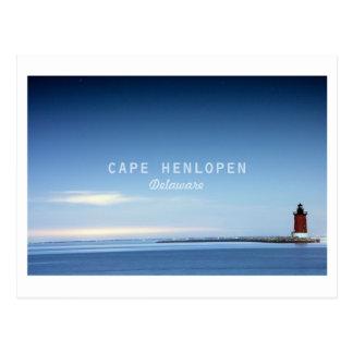 Cabo Henlopen. Postal