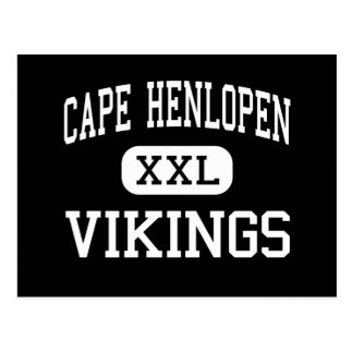 Cabo Henlopen - Vikingos - altos - Lewes Delaware Postal