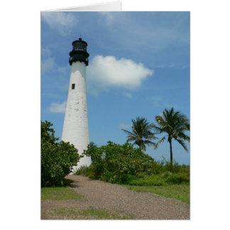 Cabo la Florida Tarjeta De Felicitación