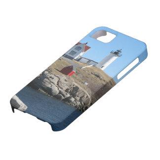 Cabo ligero Neddick Maine de la protuberancia iPhone 5 Case-Mate Cárcasa