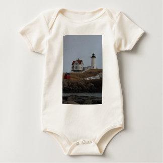 Cabo Neddick/luz de la protuberancia pequeña en Traje De Bebé