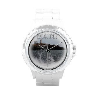 Cabo Neddick - protuberancia pequeña Maine ligero Reloj
