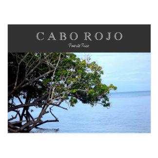 Cabo Rojo, Puerto Rico Postcard