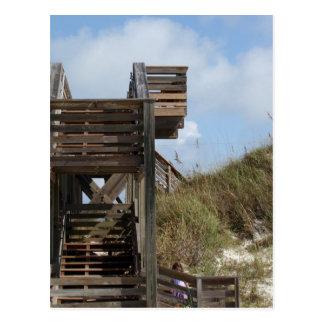 Cabo San Blas la Florida Dunewalk del lado de la Tarjetas Postales